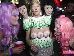 Naughty Naked Flashfest Sluts Key West