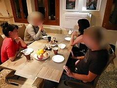 ALEXANDRA WETT in 18 YEARS OLD! Deflowered at dinner