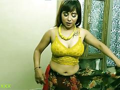 Desi Hot Malkin has sex with office employee! Dirty audio